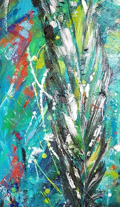 SOLD |The Feather  | 40 x 16 |