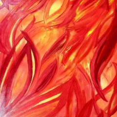 Flame | 48 x 60 |