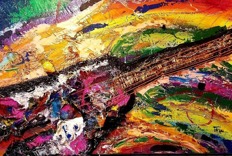 SOLD| Rock Out guitar