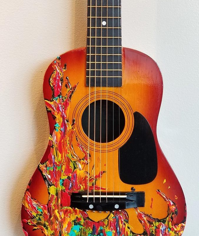 The Ring of Fire Guitar