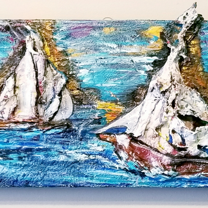 SOLD |Helm at Ease | 10 x 20 |