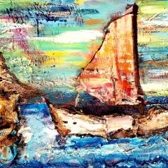 Calm Sailing | 11 x 14 |