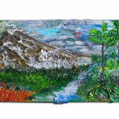 The Volcano in Coasta Rica |16 x 40 |