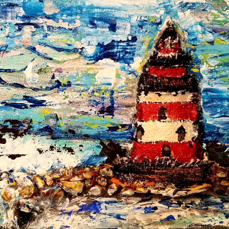 Lighthouse on the Great Lakes | 8 x 10 |